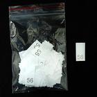 Размерники в пакетике (уп. 200 шт.) №56 белый