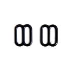 Регулятор для бюст. 1008 металл. шир. 1,0 см черный