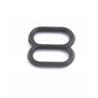 Регулятор для бюстгальтера пластик шир. 0,8 см черный