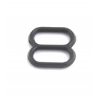 Регулятор для бюст. пластм. шир. 0,8 см черный