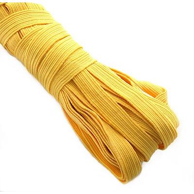 Резинка вздержка 10 мм желтый 02 в интернет-магазине Швейпрофи.рф