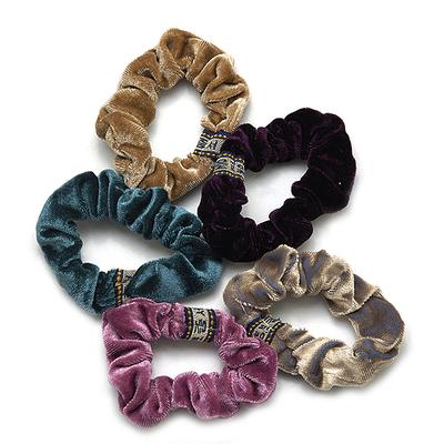 Резинка для волос бархат  G-129  В-299 в интернет-магазине Швейпрофи.рф