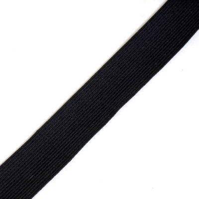 Резинка Россия СН 25 мм (рул. 25 м) чёрный в интернет-магазине Швейпрофи.рф