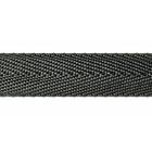 Ременная лента 22 мм «Ёлочка» (рул. 100 м) черн.