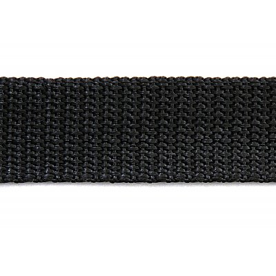 Ременная лента Китай 20 мм (рул. 50 м) черн. в интернет-магазине Швейпрофи.рф