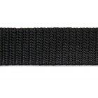 Ременная лента Китай 20 мм (рул. 100 м) черн.