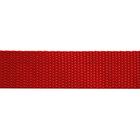 Ременная лента Китай 25 мм (рул. 100 м) красн.