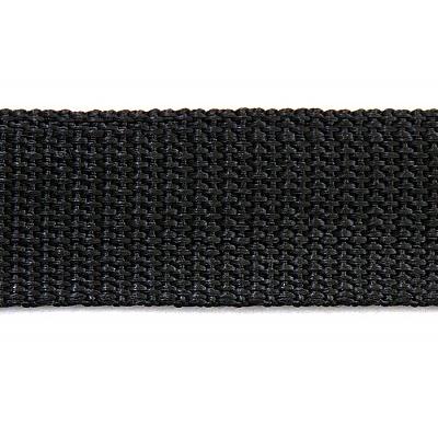 Ременная лента Китай 25 мм (рул. 100 м) черн. в интернет-магазине Швейпрофи.рф