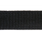 Ременная лента Китай 25 мм (рул. 100 м) черн.
