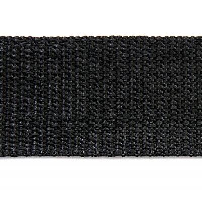 Ременная лента Китай 40 мм (рул. 100 м) черн. в интернет-магазине Швейпрофи.рф