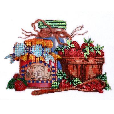 Ткань для вышивания бисером HP СБ-3016 «Сладкое варенье» 18*22 см в интернет-магазине Швейпрофи.рф