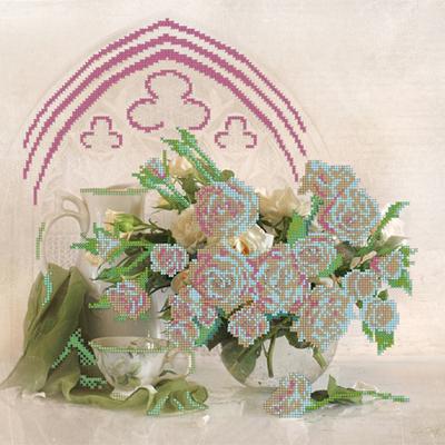 Ткань для вышивания бисером Астрея (Gluria) 70005 «Адажио» 35,5*34,5 см в интернет-магазине Швейпрофи.рф