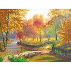 Рисунок для вышивания бисером Астрея (Gluria) 71065 «У речки» 40*29,5 см
