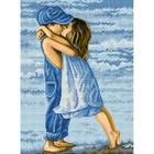 Рисунок для вышивания бисером Благовест К-3046 Первая любовь 28*38 см