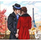 Рисунок для вышивания бисером Благовест К-3082 Встреча в Париже 28*28 см