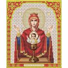 Рисунок для вышивания бисером Благовест И-4024 Пресв. Богородица Неупив. Чаша 20*25 см