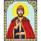 Рисунок для вышивания бисером Благовест И-4109 Св. Великий Князь Дмитрий Донской 20*25 см