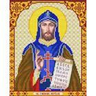 Рисунок для вышивания бисером Благовест И-4129 Кирилл 20*25 см