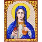 Рисунок для вышивания бисером Благовест И-4145 Мария 20*25 см