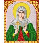 Рисунок для вышивания бисером Благовест И-4149 Св. Мученица Дария 20*25 см