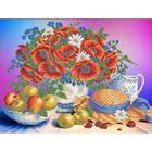 Рисунок для вышивания бисером Каролинка КБЦ-3028  «Летние дары» 35*26 см