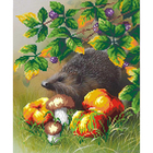 Рисунок для вышивания бисером М.П.Студия Г-084 «Ежик» 35*40 см