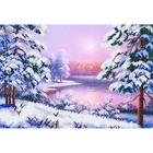Рисунок для вышивания бисером Магия канвы КС-009 «Полевой букет» 38*27 см