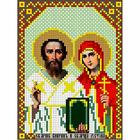 Рисунок на габардине «Русская сказка АК-022 Св. Киприан и Иустина» 12*16 см