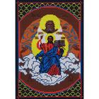 Рисунок на габардине «Русская сказка М-014 Святая Троица» 18*27 см