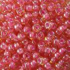 Бисер Preciosa Чехия (уп. 5 г) 11028 розовый с цветным центром