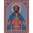 Ткань для вышивания бисером «Русская сказка МК-094 Св. Святослав» 12*16 см