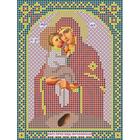 Ткань для вышивания бисером «Русская сказка МК-103 БМ Почаевская» 12*16 см
