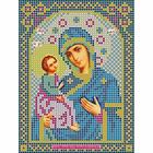 Ткань для вышивания бисером «Русская сказка МК-171 БМ Иерусалимская» 12*16 см