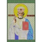 Рисунок на габардине А3 КМИ-3354 «Св. Николай Чудотворец» 25*37 см