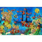Рисунок на габардине А3 КМЧ-3317 «Подводный мир»