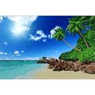 Рисунок на габардине А3 КМЧ-3439 «Райский уголок» 25*37 см