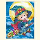 Рисунок на габардине А5 детские БИС 004 «Волшебница»