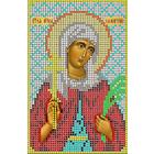 Рисунок на габардине А5 КМИ-5324 «Св. Мчц. Валентина» 10*18 см