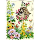 Рисунок на канве Гелиос Д-007 «Скворечник» 29*40 см