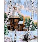 Рисунок на канве Гелиос И-038 «Старая церковь» 34*42 см