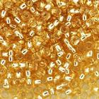 Бисер Preciosa Чехия (уп. 5 г) 17020 золотистый с серебр. центром
