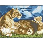 Рисунок на канве Гелиос Ф-003 «Львы» 44*34 см