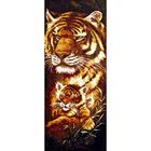 Рисунок на канве Гелиос Ф-004 «Тигрица с тигренком» 25*58 см
