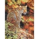 Рисунок на канве Гелиос Ф-009 «Леопард» 34*41 см