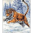 Рисунок на канве Гелиос Ф-015 «Тигр» 43,5*51,5 см