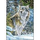 Рисунок на канве Гелиос Ф-027 «Волк» 29*40,5 см
