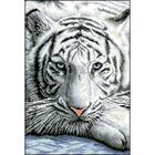 Рисунок на канве Гелиос Ф-034 «Белый тигр» 28*40 см