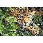 Рисунок на канве Гелиос Ф-040 «Леопард» 35,5*46,5 см