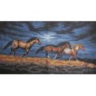 Рисунок на канве Гелиос Ф-050 «На вольном выгоне» 35*59 см