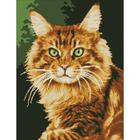 Рисунок на канве Гелиос Ф-053 «Рыжий кот» 41,5*57 см